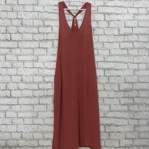 SALE La Vie en Rose Aqua Racerback Maxi Dress